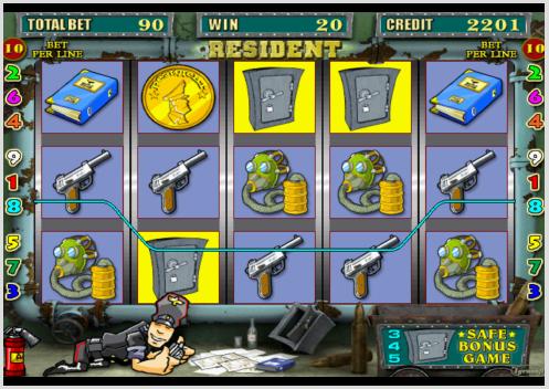 Резидент игровые автоматы играть бесплатно